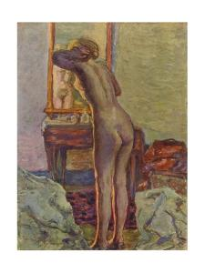 'Nu A La Coiffeuse', 1935 by Pierre Bonnard