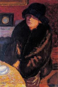 Portrait of Marta Bonnard by Pierre Bonnard