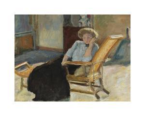 Seated Woman by Pierre Bonnard