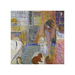 The Bathroom by Pierre Bonnard