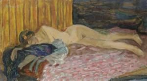 The Pink Sofa by Pierre Bonnard