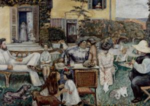 The Terrasse Family, 1900 by Pierre Bonnard