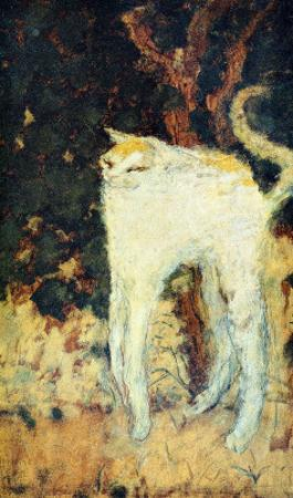 The White Cat by Pierre Bonnard