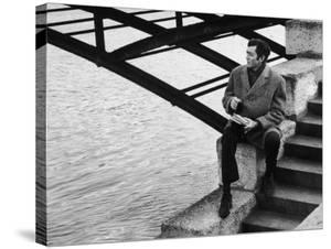 Author Julio Cortazar by Pierre Boulat