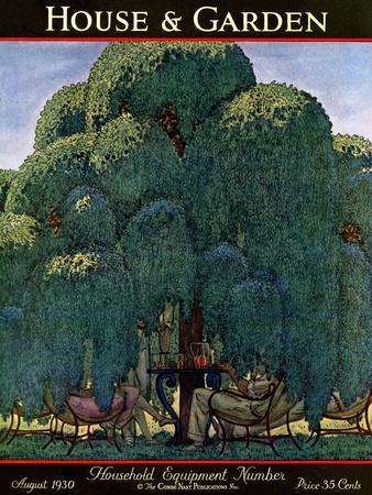 House & Garden Cover - August 1930