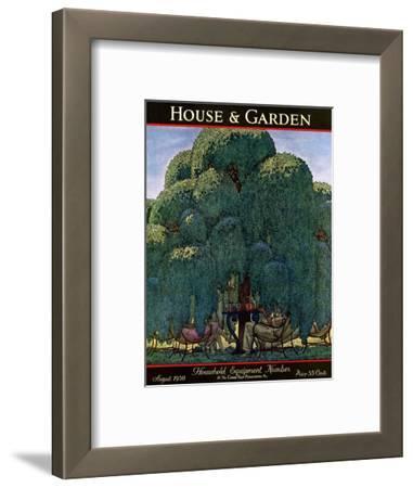 House & Garden Cover - August 1930