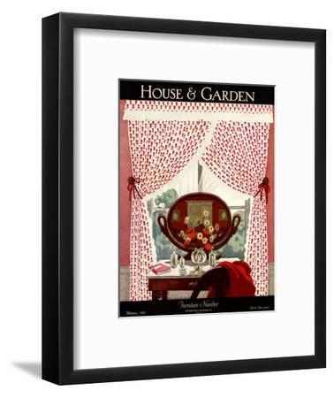 House & Garden Cover - February 1926