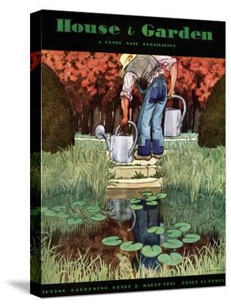 House & Garden Cover - March 1931