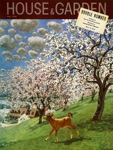House & Garden Cover - May 1938 by Pierre Brissaud