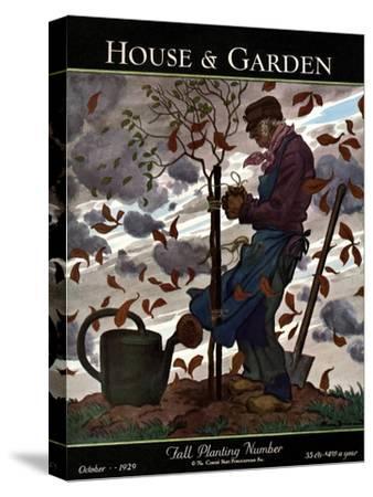 House & Garden Cover - October 1929