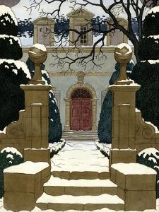 House & Garden - December 1930 by Pierre Brissaud
