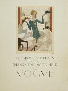 Vogue - March 1925 by Pierre Brissaud