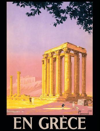 En Grece (in Greece) - Ancient Temple of Zeus - Athens, Greece