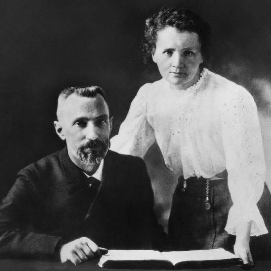 Pierre Curie and Marie Sklodowska Curie (1867-1934), C. 1903--Photo