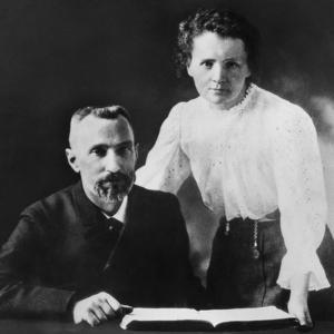 Pierre Curie and Marie Sklodowska Curie (1867-1934), C. 1903