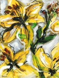 Étude Fleurs I by Pierre David