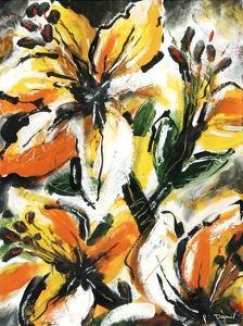 Étude Fleurs II by Pierre David