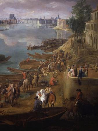 Bottom Tip of the Ile St Louis, Paris from the Quai De La Rapée, also Called the Quai De Bercy