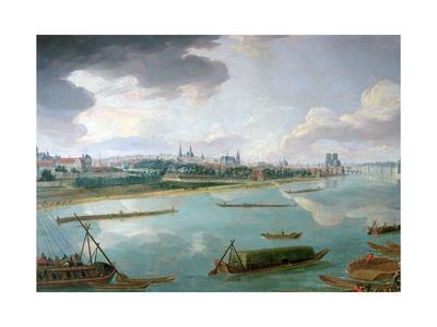 View of Paris from the Quai De La Rapee