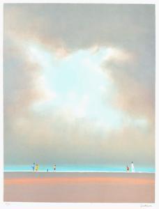 Après-midi sur la plage by Pierre Doutreleau