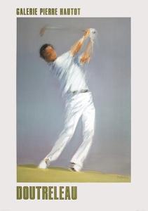 Golf Player by Pierre Doutreleau