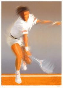 Tennisman by Pierre Doutreleau