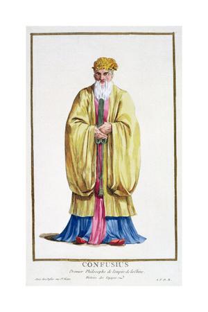 Confucius, ancient Chinese philosopher, (1780)