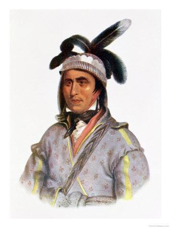 Cunne Shote, Chief of the Cherokees, 1780