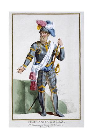 Hernan Cortes, Spanish conquistador, (1780)
