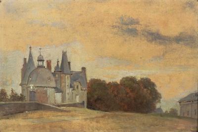 The Chateau Des Rochers Near Vitre, 1831-1832