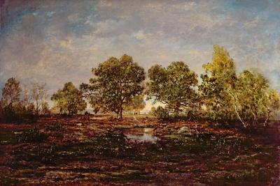 The Pond at Dagneau (Dagan) 1858-60