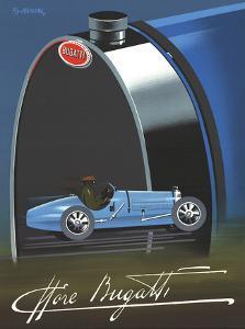 Bugatti by Pierre Fix-Masseau