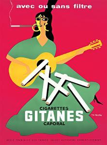 Gitanes / Cigarettes Caporal by PIERRE FIX-MASSEAU