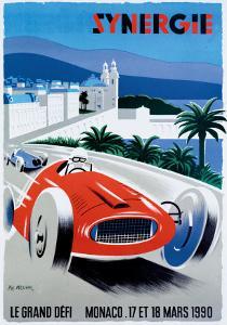 Le Grand Defi Monaco, 18 Mars, 1990 by Pierre Fix-Masseau