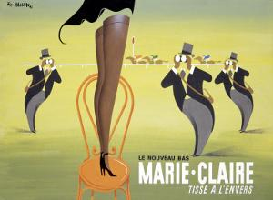 Marie Claire by Pierre Fix-Masseau