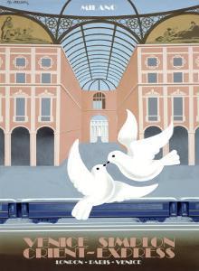 Milano Orient Express by Pierre Fix-Masseau