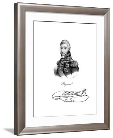 Pierre Francois Charles Augereau, Duke of Castiglione (1757-181), French Soldier--Framed Giclee Print