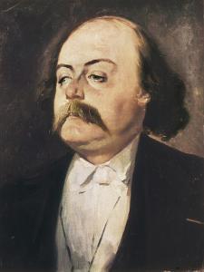 Gustave Flaubert by Pierre François Eugène Giraud