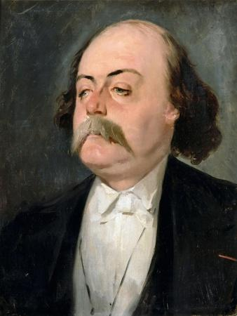Portrait of Gustave Flaubert (1821-188)