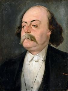 Portrait of Gustave Flaubert (1821-188) by Pierre François Eugène Giraud