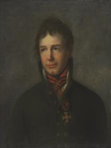 Portrait of the Admiral and Explorer Ivan Krusenstern by Pierre François Eugène Giraud