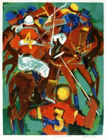 Joueurs de polo by Pierre Gaillardot
