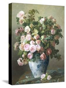 Still Life of Roses by Pierre Gontier