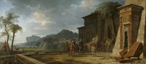 Alexander at the Tomb of Cyrus the Great, 1796 by Pierre Henri de Valenciennes