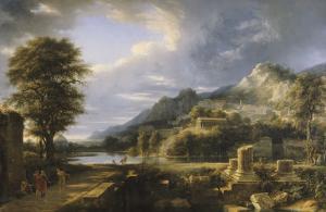 L'Ancienne ville d'Agrigente by Pierre Henri de Valenciennes