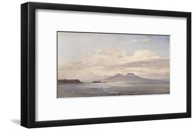 Le Vésuve et le golfe de Naples vus de la mer