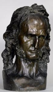 Bust of Nicolo Paganini 1830 by Pierre Jean David d'Angers