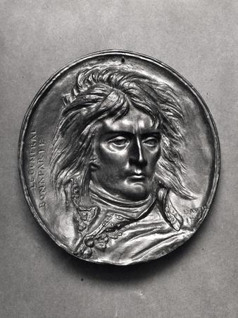 Portrait Medallion of General Bonaparte (1769-1821) circa 1830