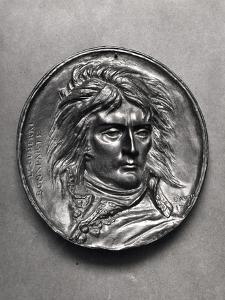 Portrait Medallion of General Bonaparte (1769-1821) circa 1830 by Pierre Jean David d'Angers