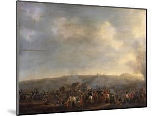 The Battle of Waterloo; the Rout of the French by Pierre Jean Hellemans